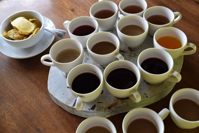 Basanta coffee bali - taste Luwak coffee on Bali