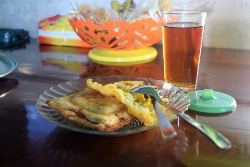 Home-cooked meals Duara Travel authentic Balinese food - local community Sebatu