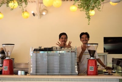 The Chillhouse in Canggu where to stay on Bali - friendly staff