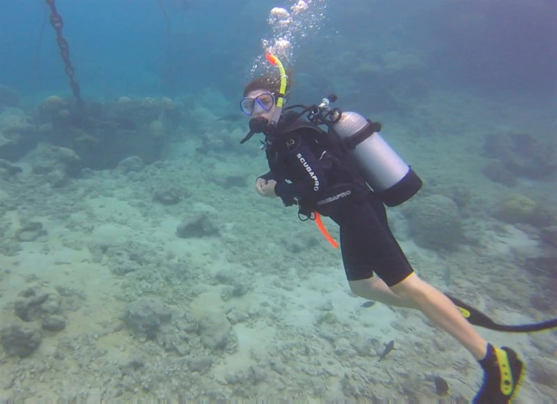 The importance of dive buddies and a proper dive buddy check