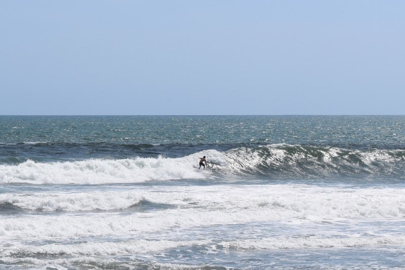 Things to do in Canggu Bali - surfing learn to surf
