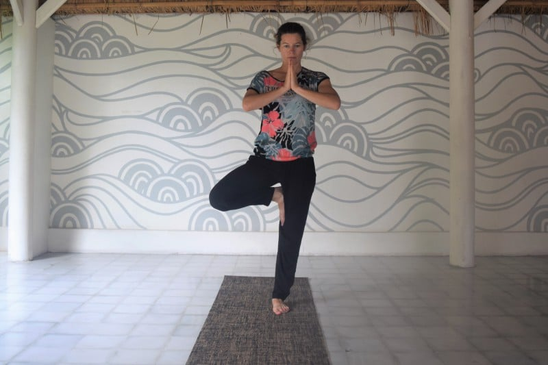 Things to do in Canggu Bali - take a yoga class at the Chillhouse yoga retreat