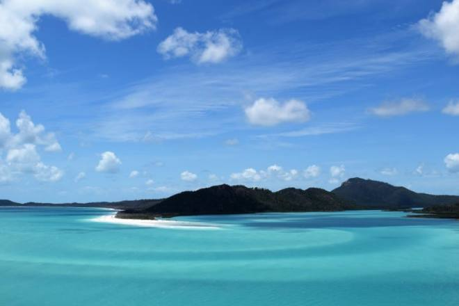 Visit the Hill Inlet Lookout for the best view of the Whitsunday Islands