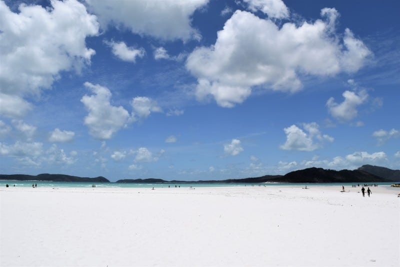 Whitehaven Beach the most beautiful beach in the world