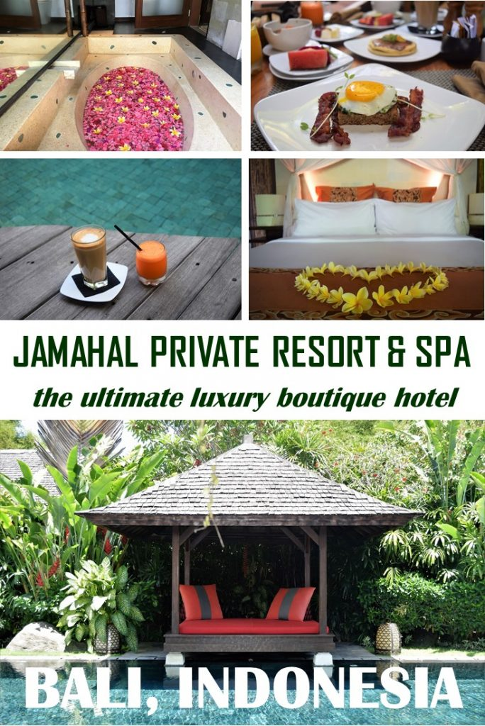 Looking for the perfect romantic getaway on Bali? Got something special to celebrate? Jamahal Private Resort & Spa is the ultimate luxury escape on Bali! #Bali #LuxuryResort #Jamahal