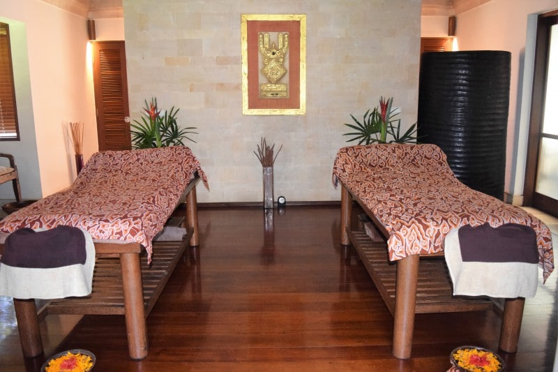 The best spa on Bali - Jamahal Private Resort and Spa - traditional Balinese full body massage