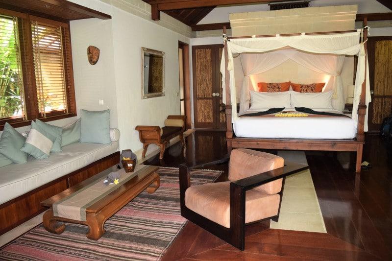 Which villa to choose at the Jamahal Private Resort and Spa - Garden villa superior Cempaka