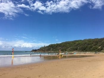 Agnes Waters Beach - places to swim safely
