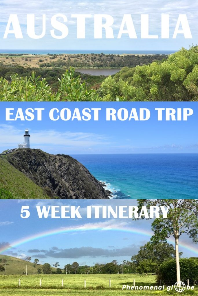 Make the most of your East Coast Australia road trip with this detailed Cairns to Melbourne itinerary! Including all the highlights (Great Barrier Reef, Whitsunday Islands, Brisbane, Sydney, the Great Ocean Road and much more), free campsites and travel tips. #australia #roadtrip #itinerary