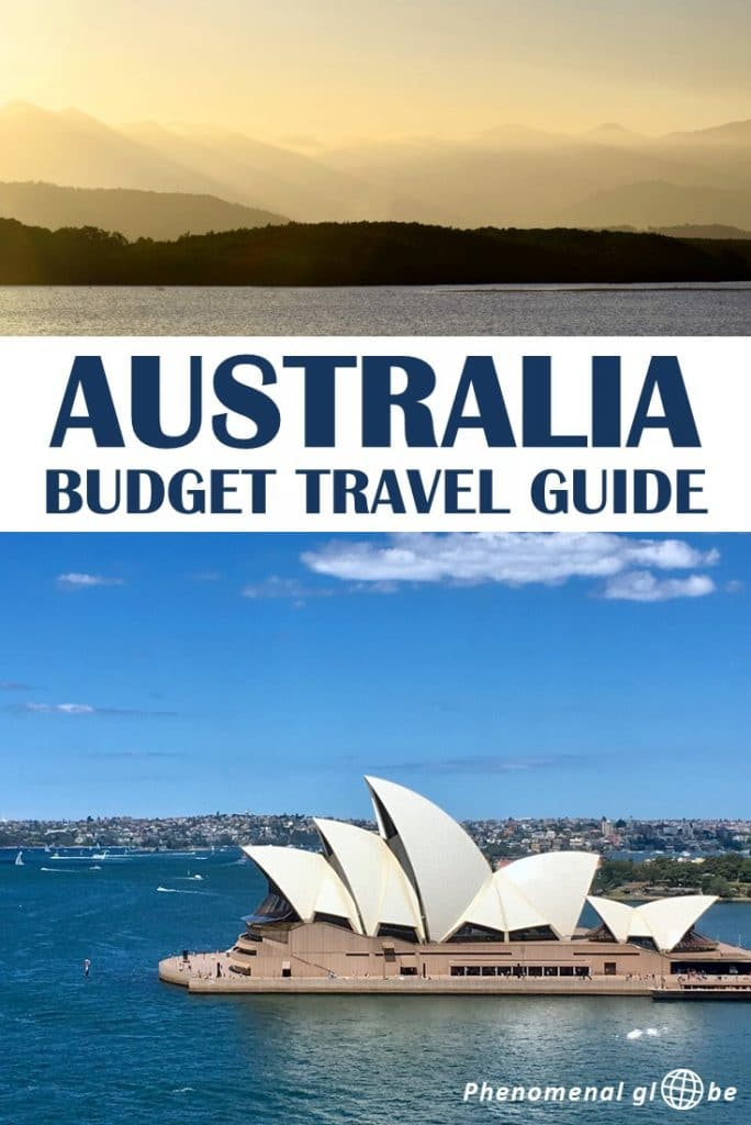 How to travel Australia on a budget! A trip to Australia doesn't have to be expensive, we spent less than €100/150 AUD per day during our 6-week road trip along the East Coast. Detailed budget breakdown and information about the costs of renting a camper van, campsites, petrol, food & activities. #Australia #travelbudget #roadtrip