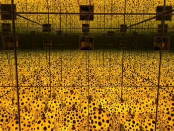Brisbane - GOMA Yuyoi Kusama exhibition