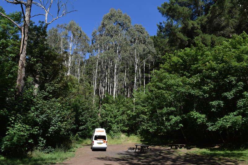 Free camp site Australia - Mount Franklin reserve
