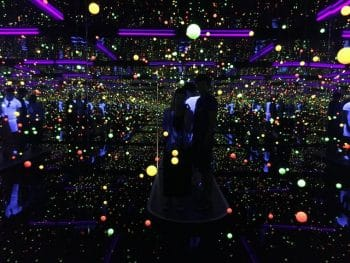 GOMA Yuyoi Kusama exhibition Brisbane