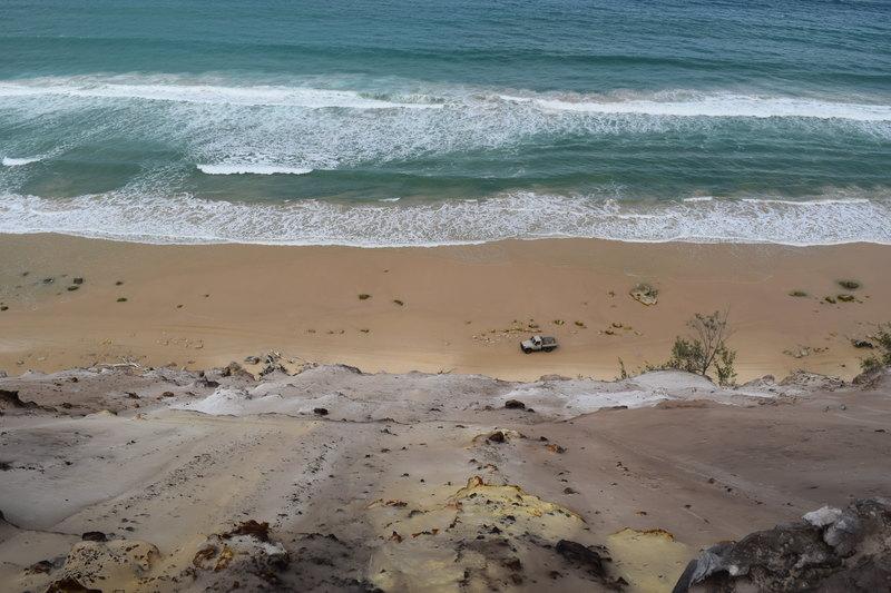 Inskip Peninsula and the Carlo Sandblow - highlights on Australia East Coast