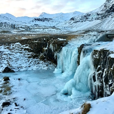 Kirkjufellsfoss- highlights of the Snæfellsnes Peninsula