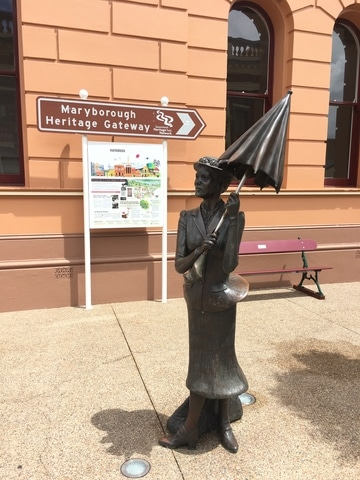 Maryborough oldest town Queensland - birthplace of Pamela Lyndon - author of Mary Poppins