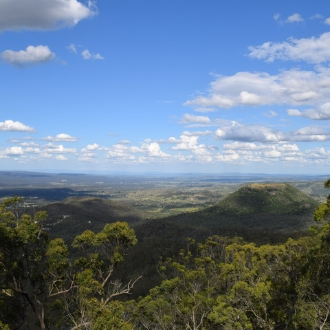 Picnic Point - viewpoint in Towoomba Australia