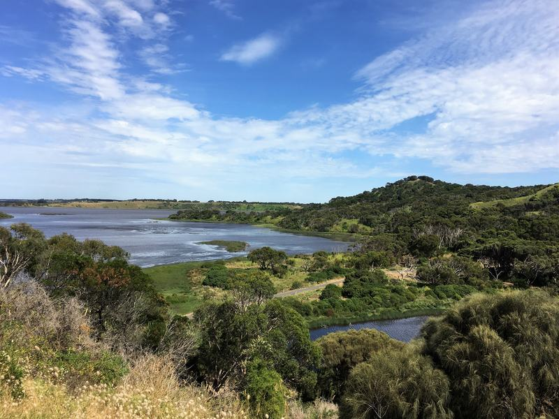 Tower Hill Reserve - overlooking the crater