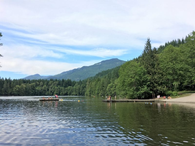 Alice Lake Provincial Park in BC