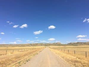 Blue skies of Saskatchewan
