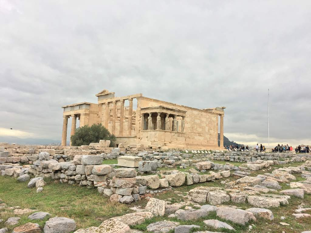 Erechtheion - temple of Athena and Poseidon