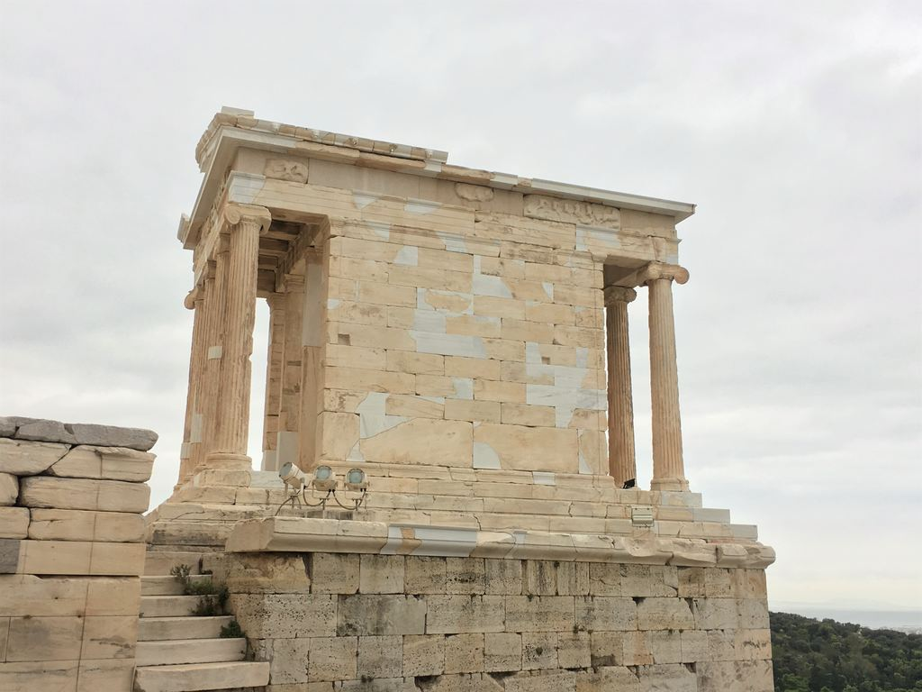 Temple of Athena Nike in the Acropolis