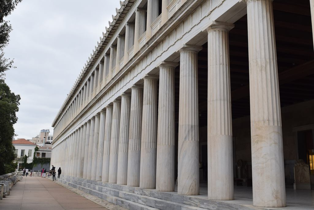 The Stoa of Attalos in the Greek Agora