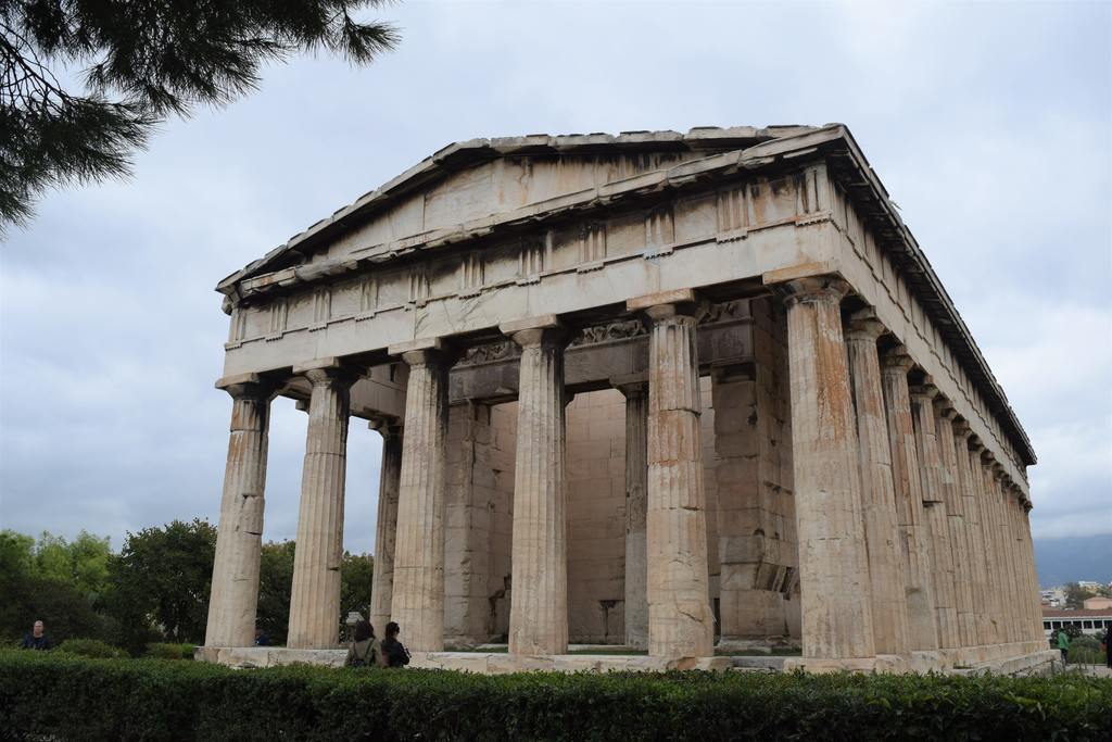 The Temple of Hephaestus in the Greek Agora