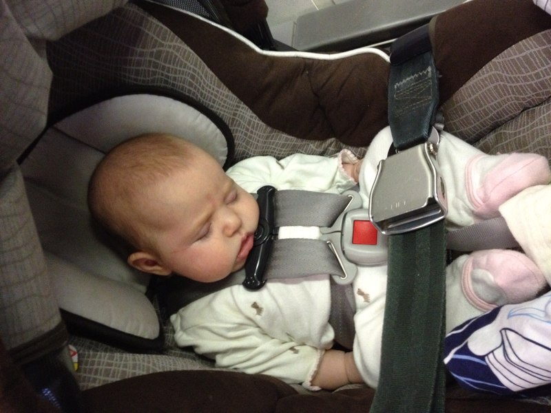 FAA approved car seats - baby travel packing list