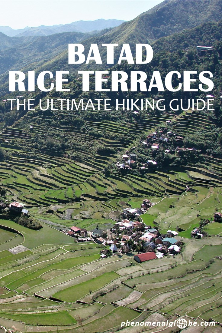 Hiking through the rice terraces of Batad was an incredible experience! To be so removed from civilization and get back to basic. No phone signal. No showers. No luxury. Only stunning nature to explore, enjoy and experience… Read about the program and costs of this 3-day adventure and download the map on Phenomenal Globe Travel Blog. #Batad #Hiking #Philippines