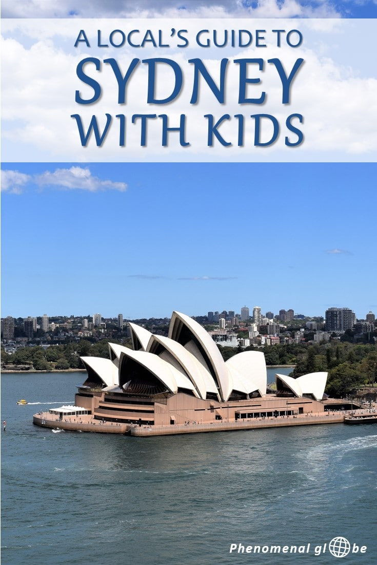A local's guide to Sydney with kids! Read about the best places to visit with kids recommended by a local mum of two. Also included advice how to get around, where to stay and where to eat with your children. #Sydney #Australia #familytravel