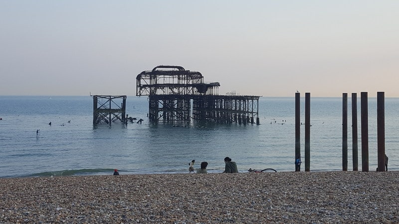 Brighton with kids