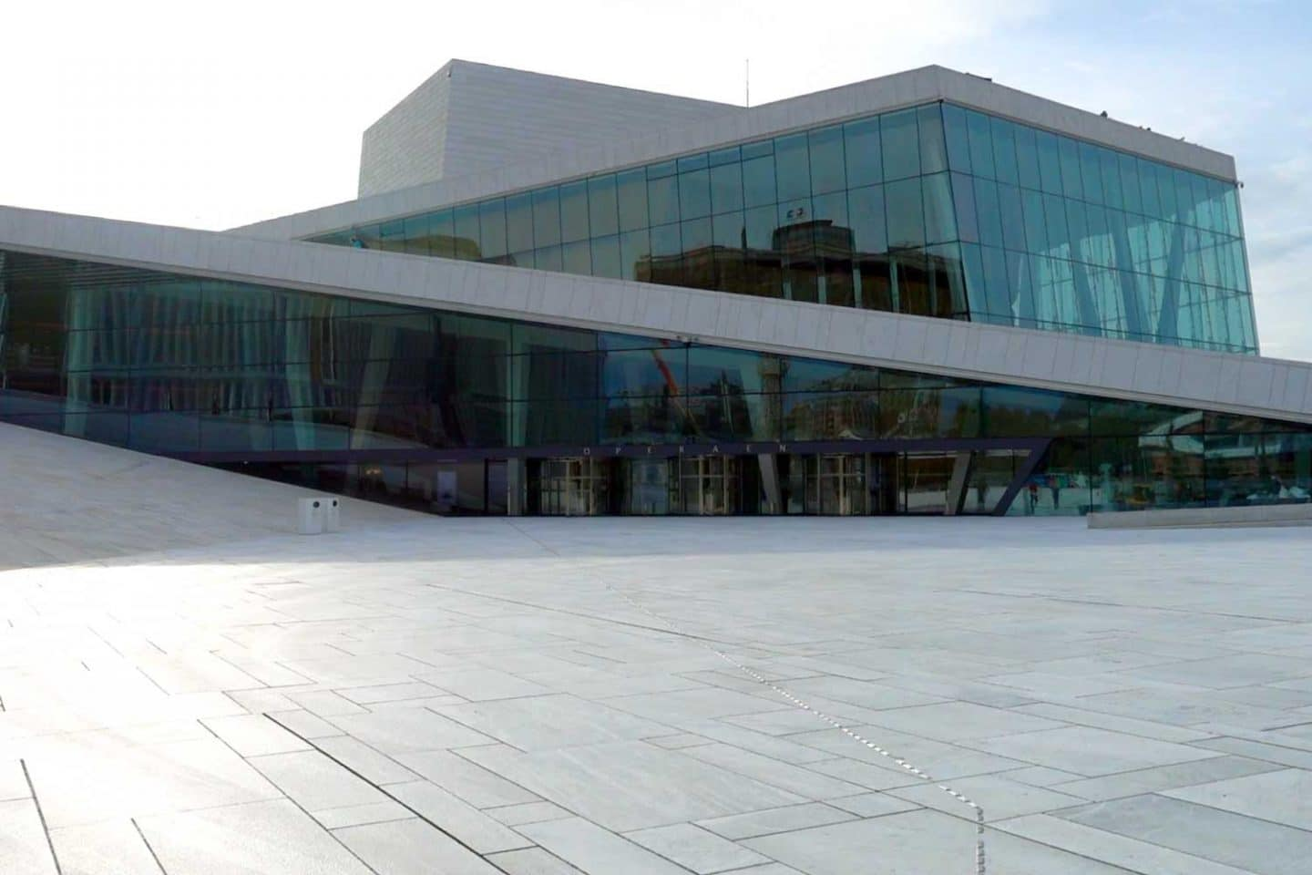 Oslo Opera House - Oslo with kids