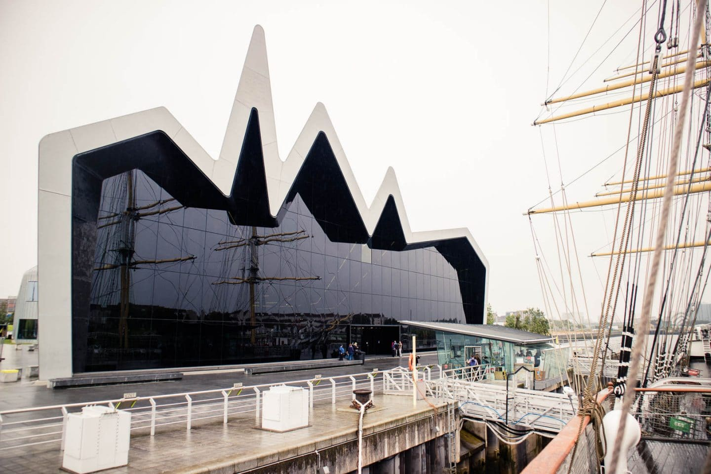 Riverside Museum and Tall Ship - Photo by Kathi Kamleitner