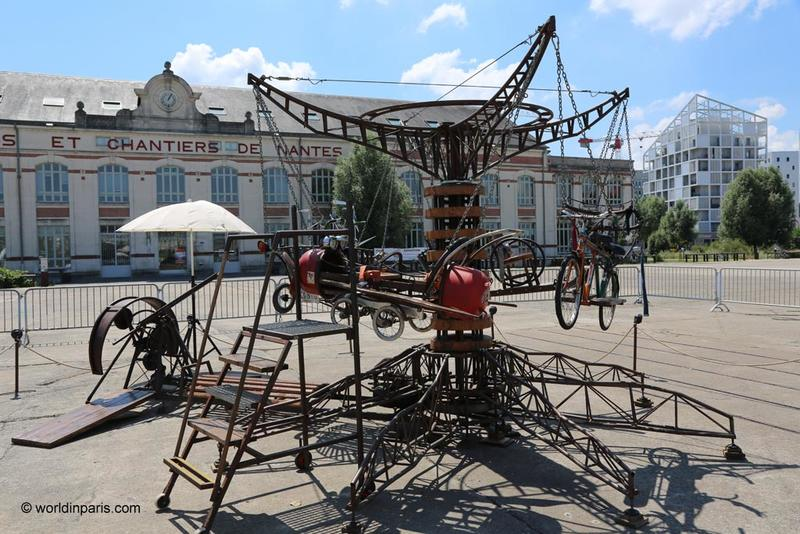 Machines de l Ile Nantes - Nantes with kids