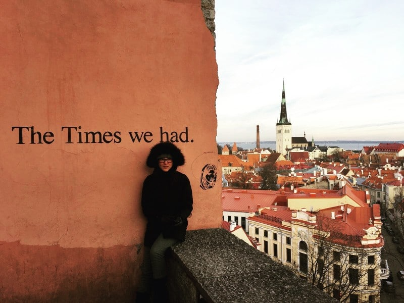 Toompea Hill Lookout - Tallinn with kids