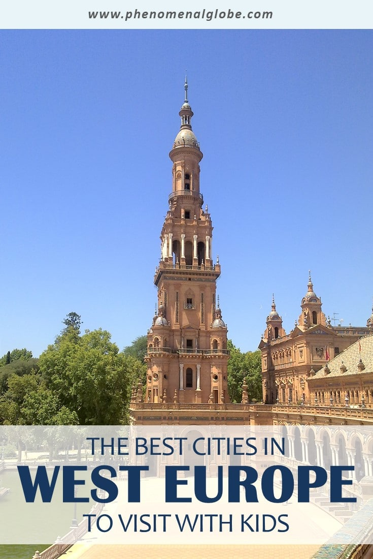 Are you planning a city trip to West Europe with your family? Check out these 20 great cities to visit with kids! Read up on the best kid-friendly activities, places to visit and family friendly hotels in these vibrant cities in West Europe. #familytravel #westeurope #citytrip
