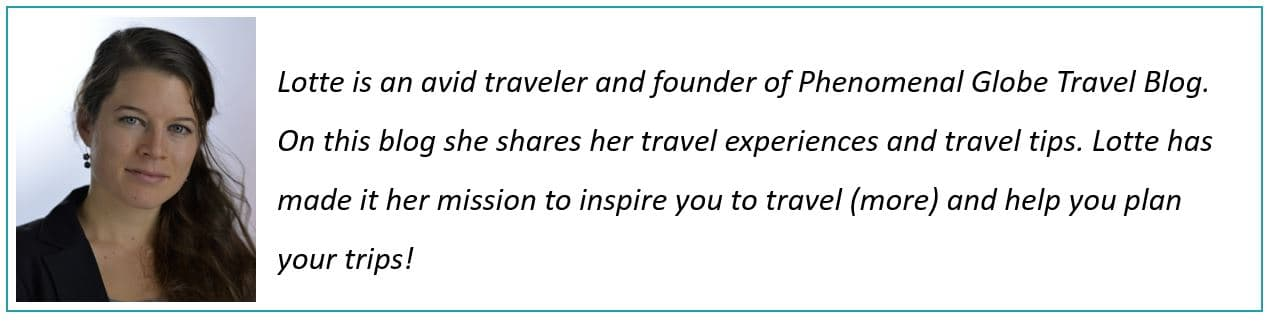 About Lotte - author of Phenomenal Globe Travel Blog