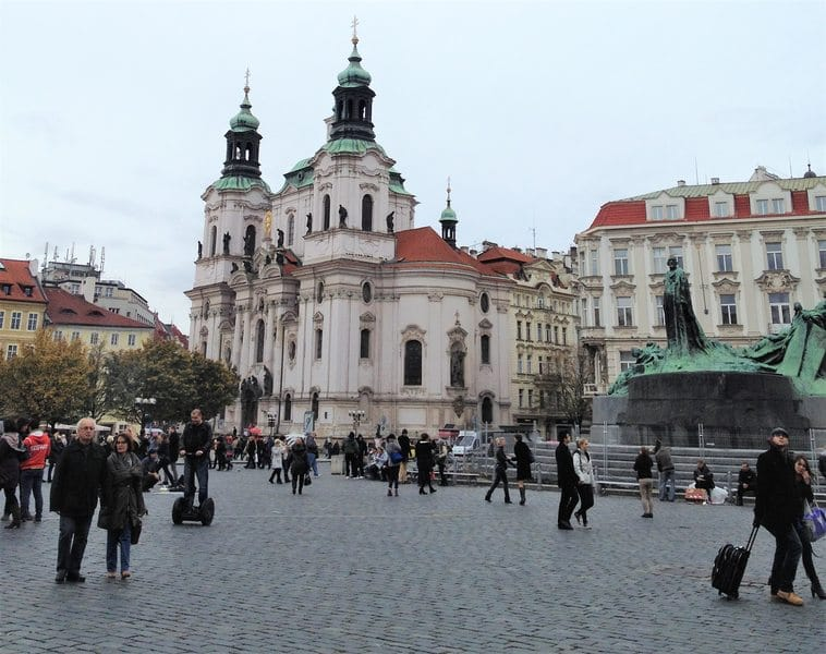 Prague square - things to do in Prague with kids