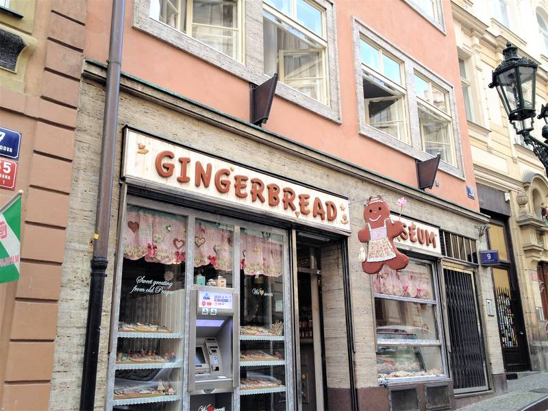 The Gingerbread museum in Prague