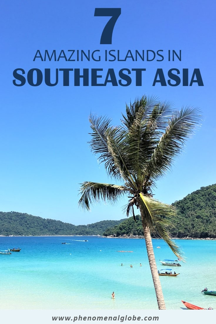 Are you looking for the best islands to visit in Southeast Asia? Do you need inspiration for a tropical getaway? Check out this great list including Bali, Langkawi, the Perhentian Islands, Tioman, Bohol, Palawan and Phu Quoc! #SoutheastAsia #IslandTravel #BestIslands