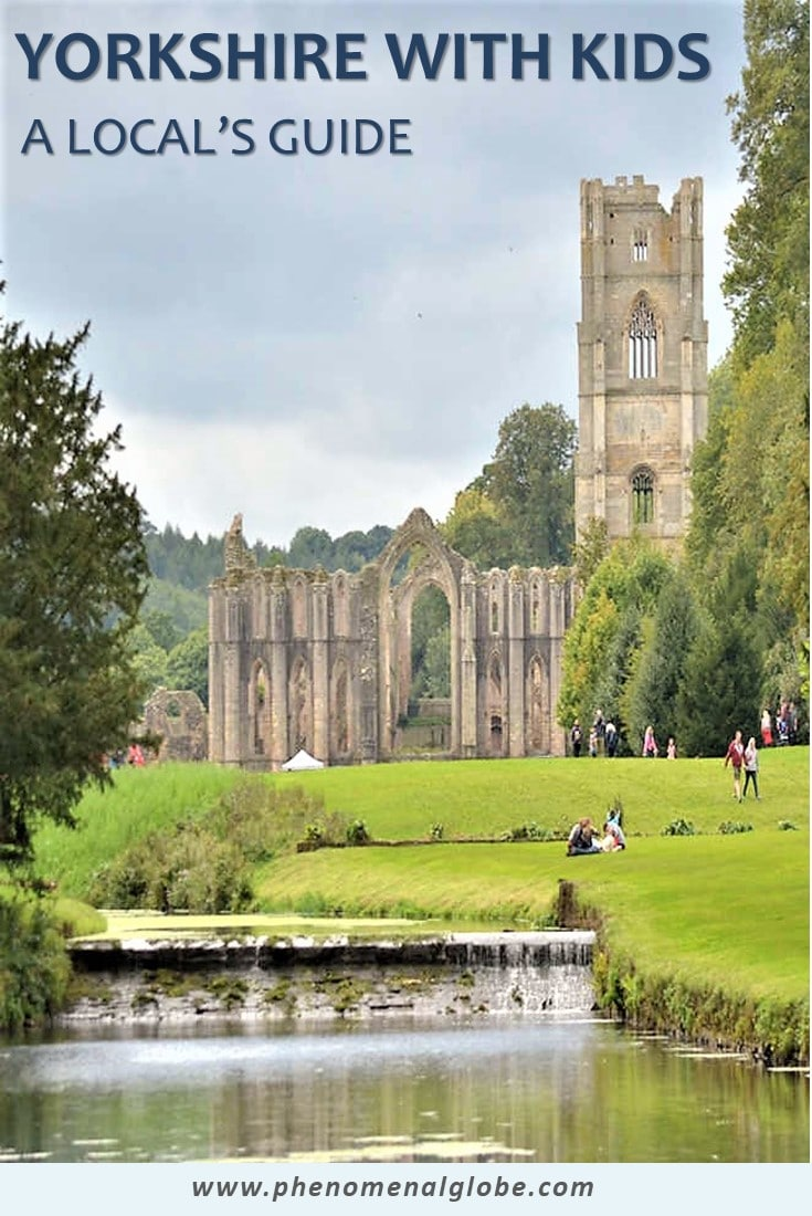 Are you planning to visit Yorkshire with your kids? Check out this great guide written by a Yorkshire local & read about the best things to do with your family! #Yorkshire #FamilyTravel #UK