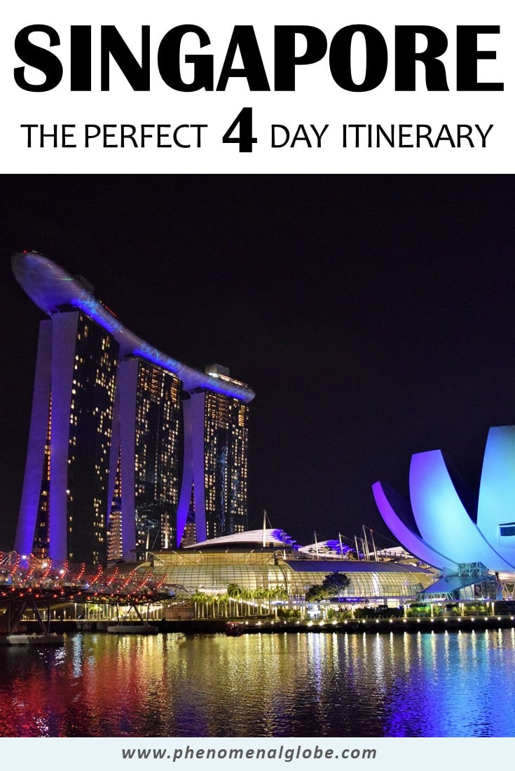 Planning a trip to Singapore? Read everything you need to know in one complete and detailed Singapore guide including the needed average daily budget, a 4-day itinerary with map and all the sights and best things to do in Singapore! #Singapore #SoutheastAsia #travel #itinerary