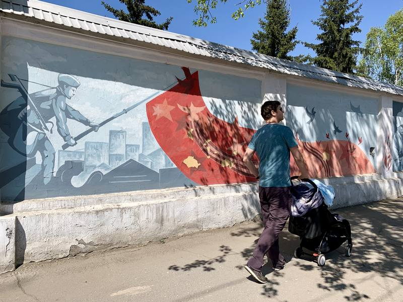 Street Art in Irkutsk