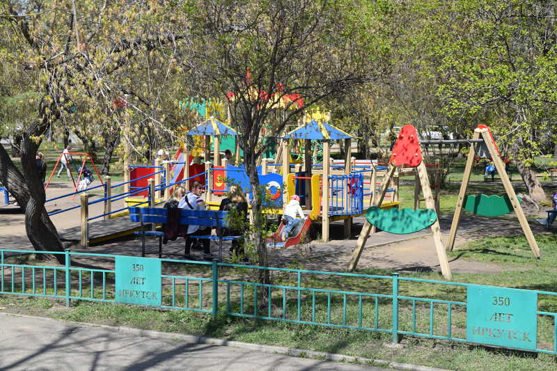 Childrens Playground in Irkutsk