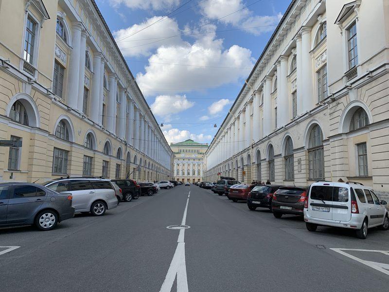 Exploring St. Petersburg Russia on foot