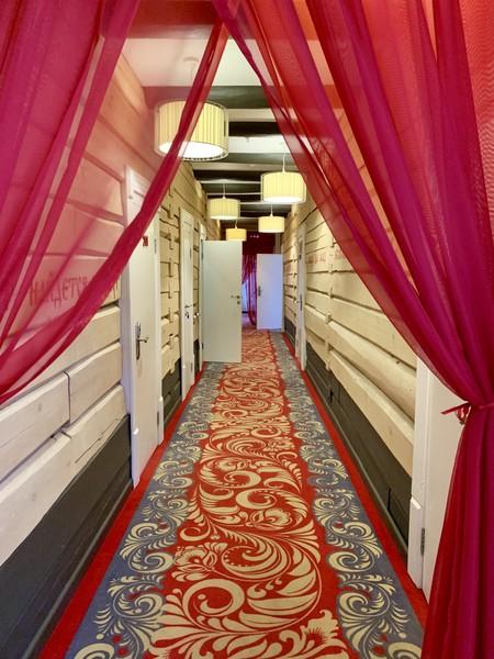 Hallway Kupechesky Dvor hotel Irkutsk