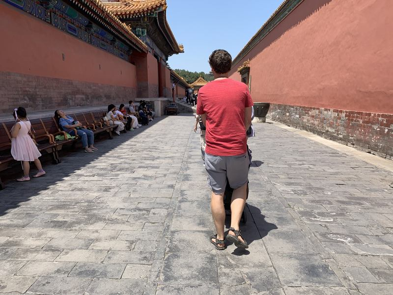 How to visit the Forbidden City with a baby