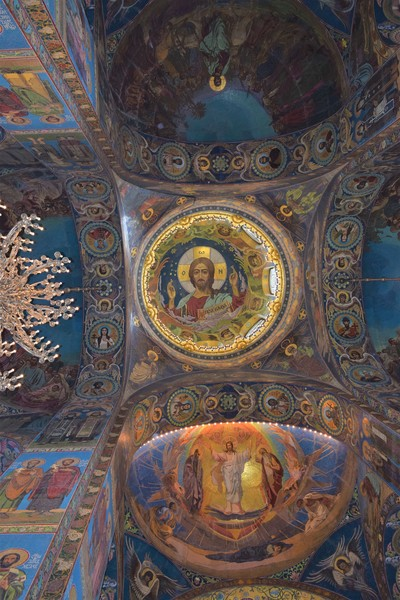 Mosaic inside the Church of the Savior on the Spilled Blood