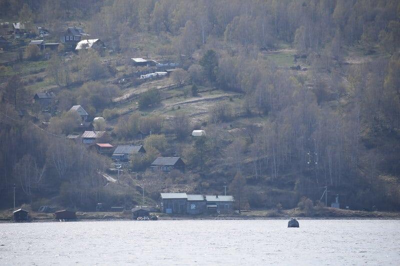 Shaman Stone Lake Baikal